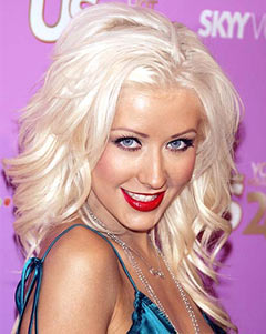Celebrity X picture of Christina Aguilera today