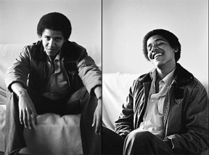 Young Barack Obama Smoking