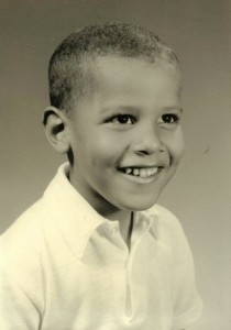Barack Obama as a child