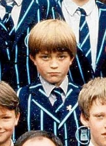 Robert Pattinson in preparatory school