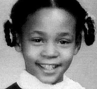 Whitney Houston at first grade