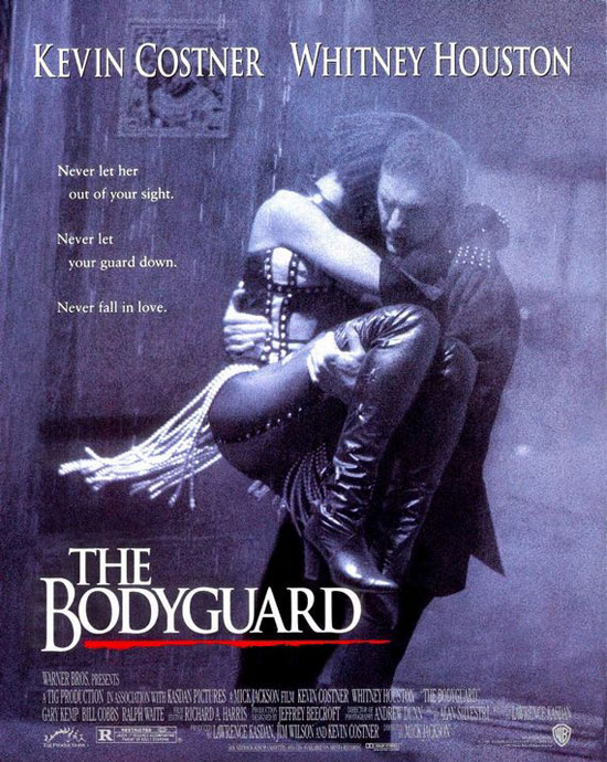 The Bodyguard, 1992.