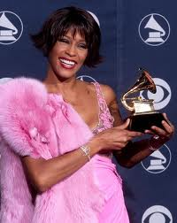 Whitney Houston awarded with another Grammy in 1986.