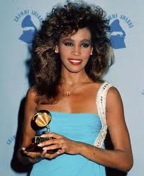 Whitney Houston's first Grammy award in 1986!