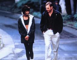 Whitney Houston & Kevin Costner.